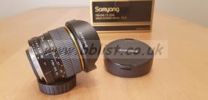 Samyang 8mm F3.5 Fish-eye Lens Nikon mount