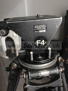Ronford Baker Tripods: F4 & F2 heads,legs & car rig.