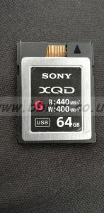 64GB XQD Card