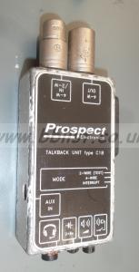 Prospect C1B 4-Wire Talkback Unit