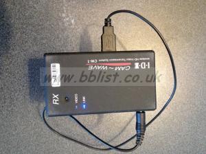 Wireless HDMI Video Transmission System IDX CW-1 came-wave