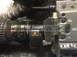 Sony DSR 500 Camera with Canon Lens