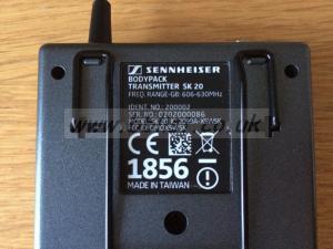 Sennheiser SK 20 Bodypack Transmitter