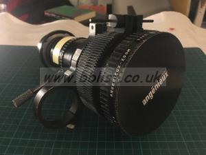ANGENIEUX 12-240mm 20:1 Zoom Lens, Vintage 16mm Amazing
