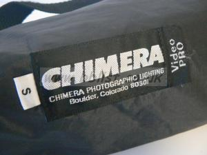 Chimera Soft Box, Eggcrate, Ring and 1K Totalight