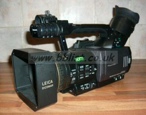 Panasonic DVX100 camera +Wide Angle Lens 82hrs