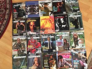 American Cinematographer Magazines.