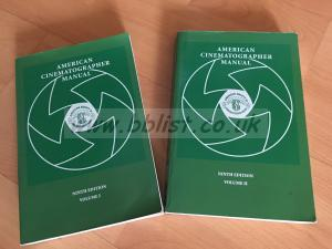 American Cinematographer Manuals. 9th Edition. Vols I and II
