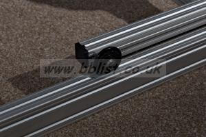 Aluminium 4m Track and Dolly