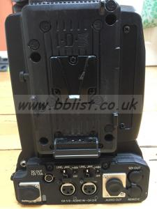 Panasonic HPX3100G Camcorder w. AV-HVF21KG viewfinder, P2 Ca