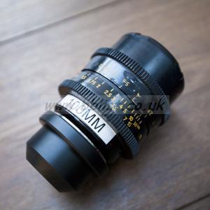 100mm Zeiss Planar PL mount lens + cut Pelicase