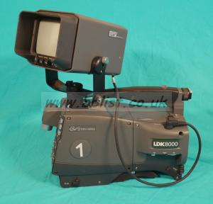 "Grass Valley LDK8000 with 5"" viewfinder"