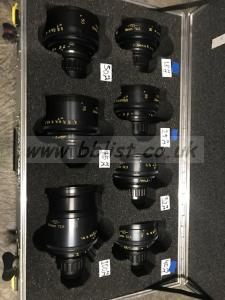 Set of 7 TLS Re Housed Cooke Panchros Mint Condition
