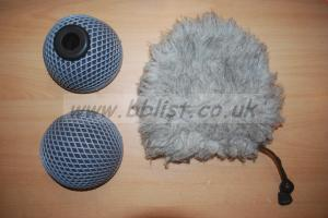 Rycote Baby Ball Gag 20mm windshield and windjammer