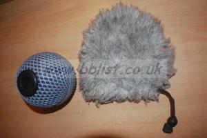 Rycote Baby Ball Gag 20mm windshield and windjammer