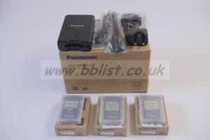 Panasonic Varicam LT Kit Panasonic P2 Memory Card Drive Panasonic 256GB Express P2 Card x3