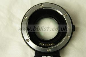 Metabones Speed Booster Ultra - Canon EF to Sony E-Mount