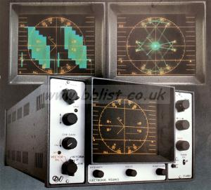 Electronic Visuals combined waveform monitor / Vectorscope