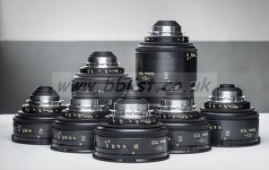 TLS Cooke Speed panchro 7 Lens set