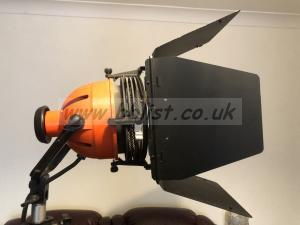 Three Rank Lighting Ianebeam 800W Redheads with stands