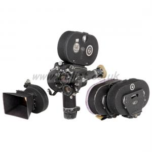 Arriflex 35 IIc Motion Picture Camera With 3x Lenses, 28mm,