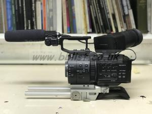 Sony NEX-FS700 shooting kit with 4K RAW/Slog-2 upgrade