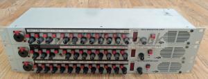 3x Audionics SC-2 1u Audio Monitoring Units