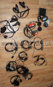 Lot of Broadcast Camera Headphones Parts