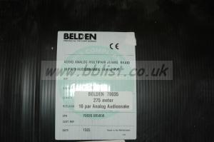 Belden 70035 16-pair Audio Snake