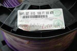 Belden 1800B Audiopair Violet AES/EBU