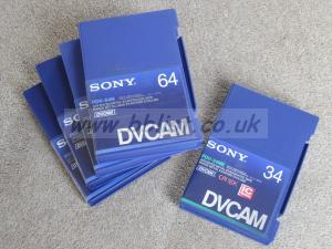 DVcam tapes