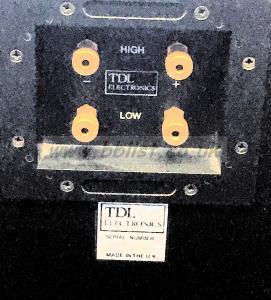 TDL ELECTRONICS Studio 1