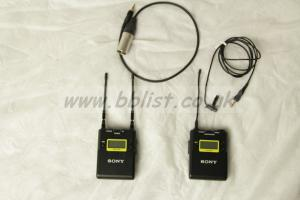 Sony UWP-D11 Wireless Microphone kit - channels 33 - 40
