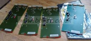 4x Axon Synapse HDR07 HDSDI Distribution cards