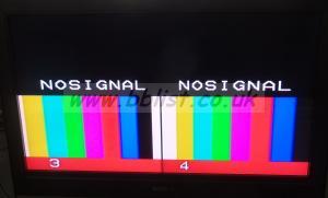 Fora MV-40EP PAL Twin Broadcast Quad Multi-Viewer Rack