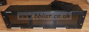 Teletest OZR3580 TFT Triple LCD Monitor Rack