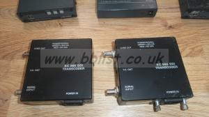 Lot of 8x Video Covnverters and switchers