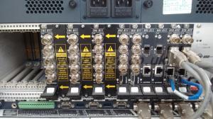 Harris SYS-1700 Netvx HD frame with HD encoders