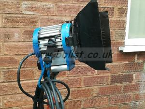 Arrilite lighting kit 2x Arri 300w  & a 750w in optex bag