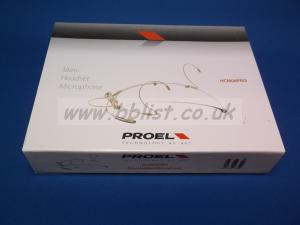 Proel HCM08Pro Headworn Microphone with 3 Pin Lemo