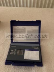 16 x Sony PDV 64N DVCAM tapes new & unused