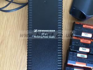 Sennheiser L 2015 Battery Charger x 2 And LA-2 X 2