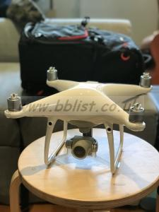 DJI Phantom 4 Advanced plus drone with Bag and 2 extra batte