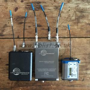 Lectrosonics Srb with SMA + UM400a transmitters, Block 26