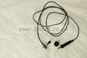SONY ECM-77 lavalier mic WIRED FOR SENNHEISER TRANSMITTERS