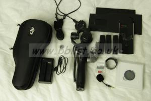 DJI OSMO (OM160) with EXTRAS