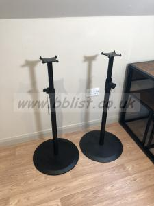 Pair of Genelec 8030-408 Stands