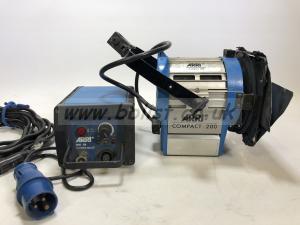 Arri 200w compact kit