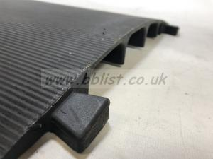 Cable ramp rubber 4 ch interlocking 80x43cm job lot of 56