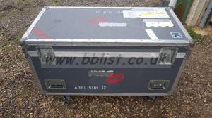 Large wheeled flight case - DJ, Road case,equipment case etc